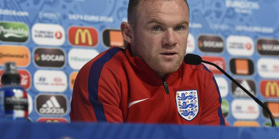 Rooney to the bench for England