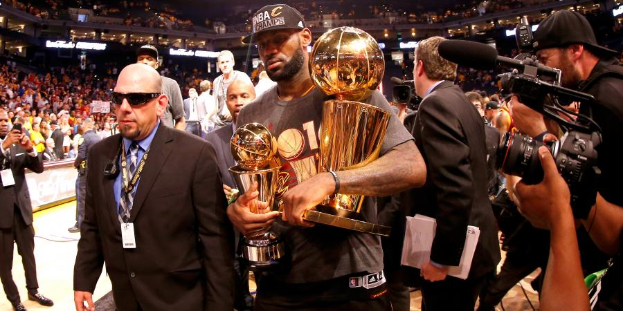Cavaliers rejoice as Lebron delivers title promise to city of Cleveland