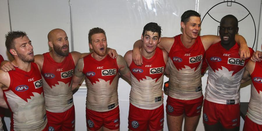 Swans join logjam at top of AFL ladder