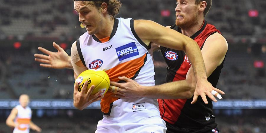Giants sweat on Davis' fitness ahead of Blues clash