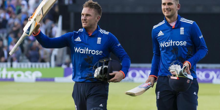 Hales, Roy power England to huge ODI win