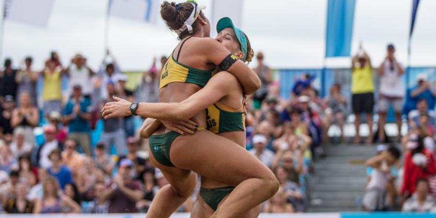 Aust books second Rio beach volley berth