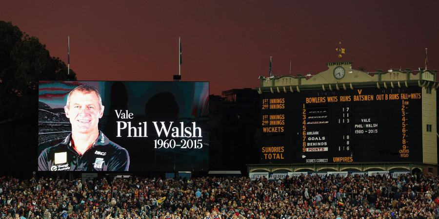 Crows to honour Walsh death anniversary