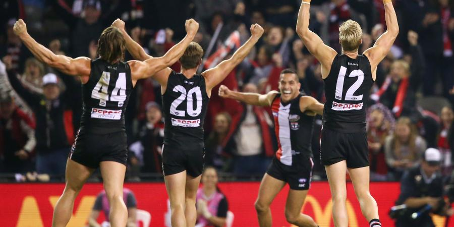 Saints play down AFL top-eight hopes