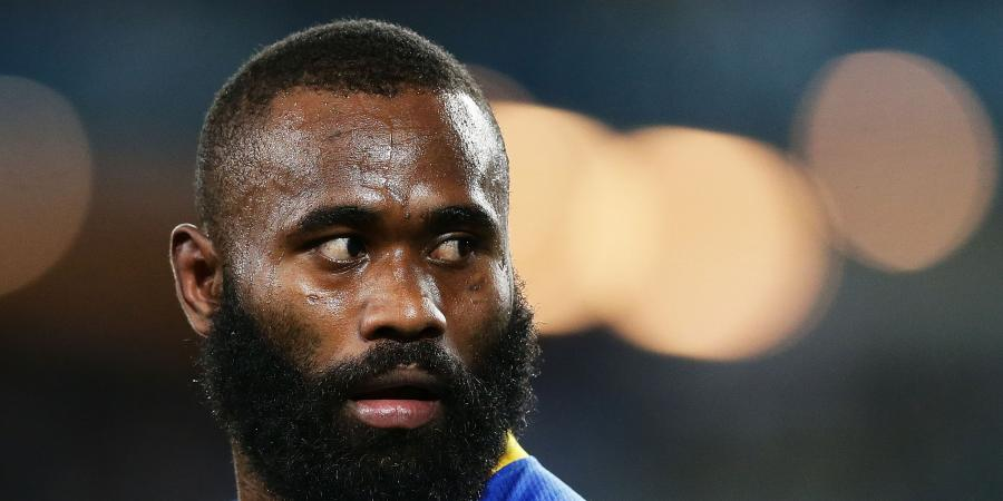 Eels' Radradra taken away by police