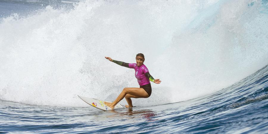 Fitzgibbons gets unwanted surf tour 1st