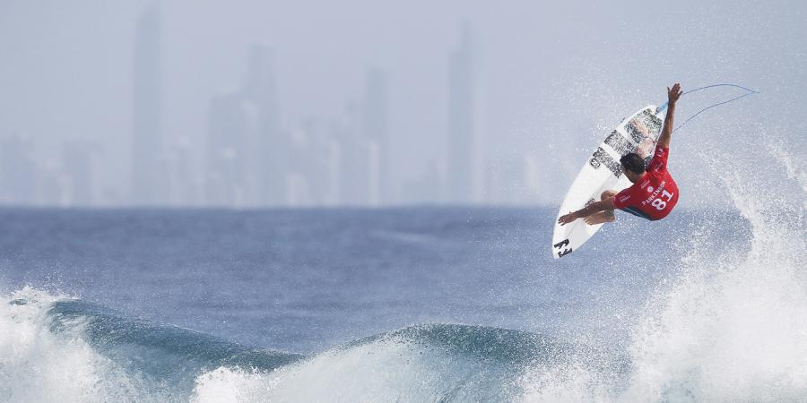 Parko hoping hard works pays off in surf