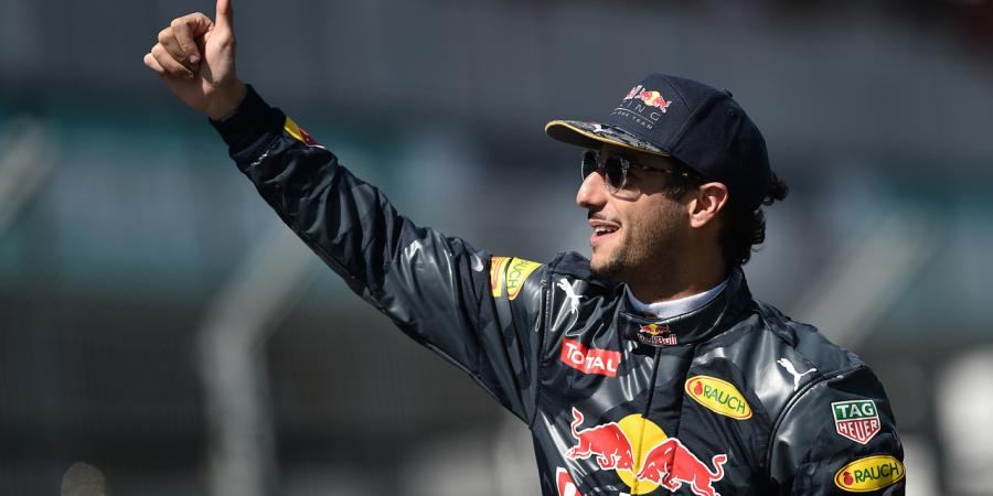 We're not far off, says beaming Ricciardo