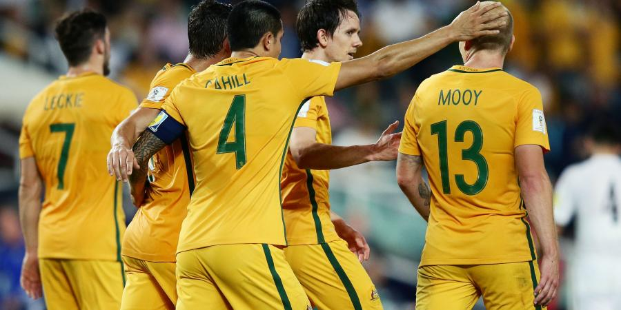 Five-star Socceroos thump Jordan