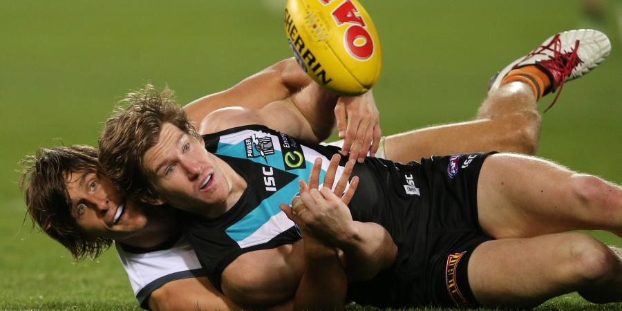 Port Adelaide's Matt White to miss 12 weeks