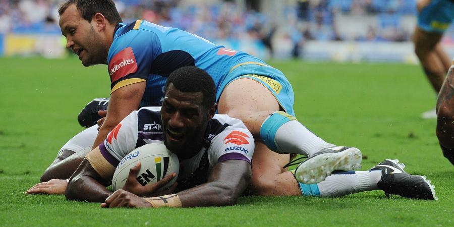 Fijian sparks injury depleted Storm