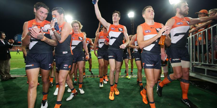 "POLL: Was GWS' win against the Hawks a ""changing of the guard"""