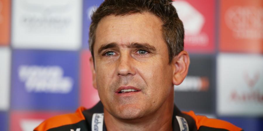 Giants coach dismisses McGuire talk