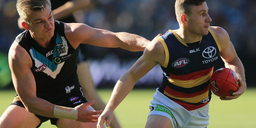 Crows lose Laird with toe fracture