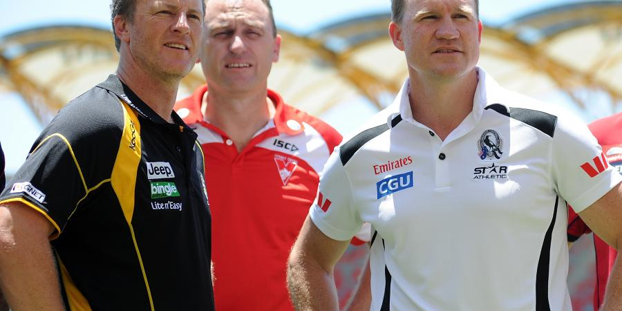AFL coaches closer: Hardwick, Buckley