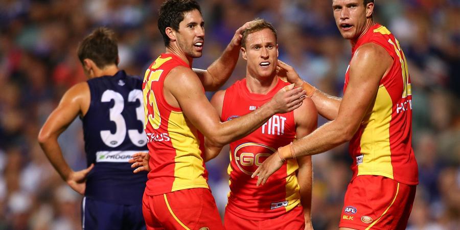 Three big Victorian clubs chasing Suns forward