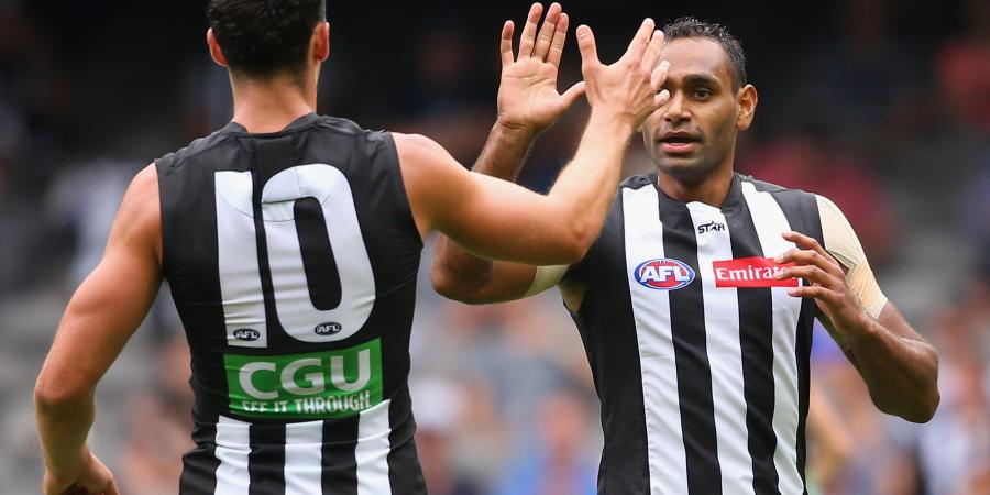 Pies duo ruled out of clash with Carlton