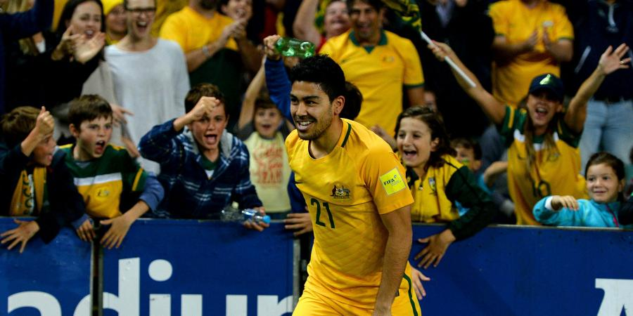 Luongo to miss Socceroos' Greece clashes