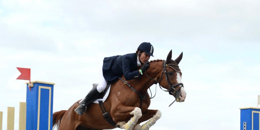 Johnson wins Sydney equestrian event
