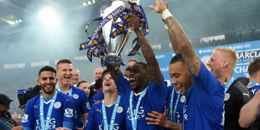 Party time for EPL champs Leicester