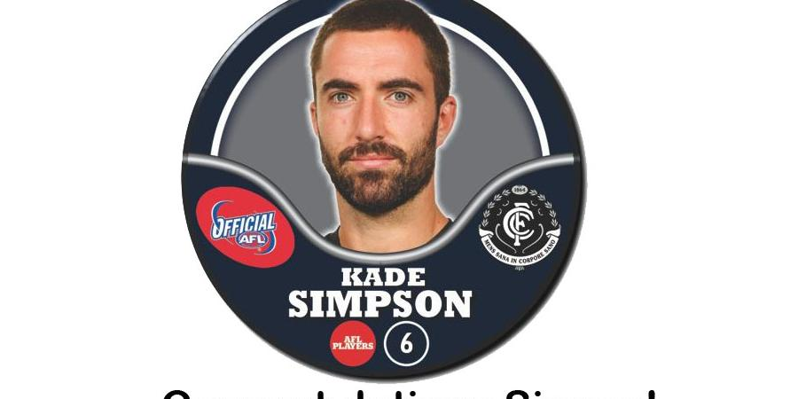 Kade Simpson...250 Games...Legend!