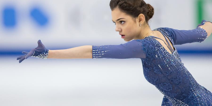 Reflecting on Worlds: Evgenia's Amazing World Record