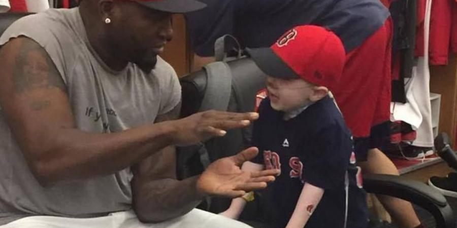 Ortiz emotional after meeting young fan he hit HR for