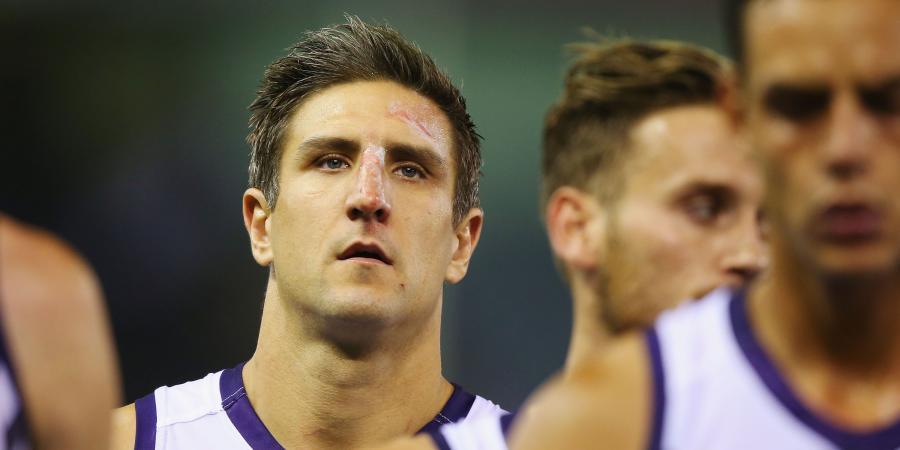 Nat Fyfe ruled out for rest of AFL season