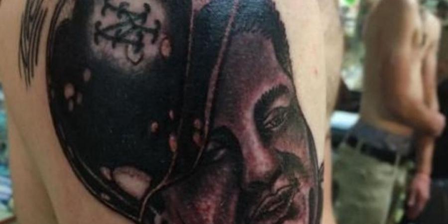 Mets fan gets huge Bartolo tattoo after losing bet