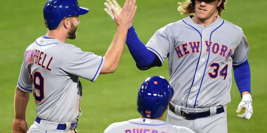 Watch: Syndergaard bests Colon, hits 2 homers