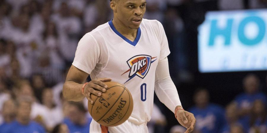 Watch: Westbrook poses after drilling 3-pointer
