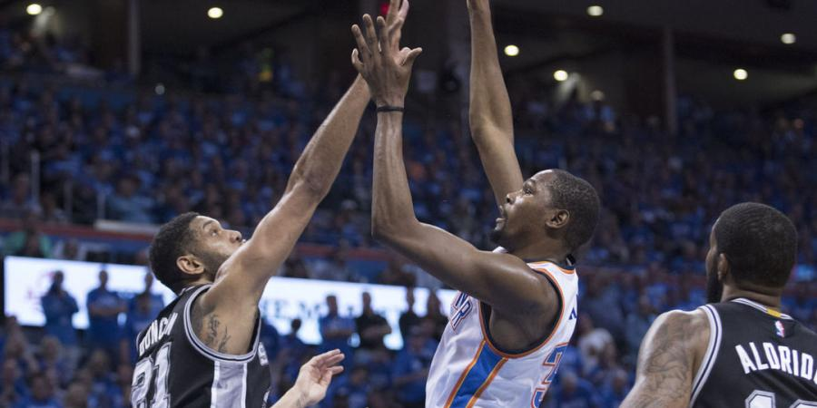Thunder throttle Spurs, move on to face Warriors - The Associated Press