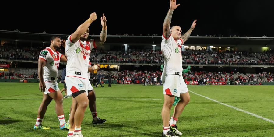 Euan beauty! Dragons win as siren sounds