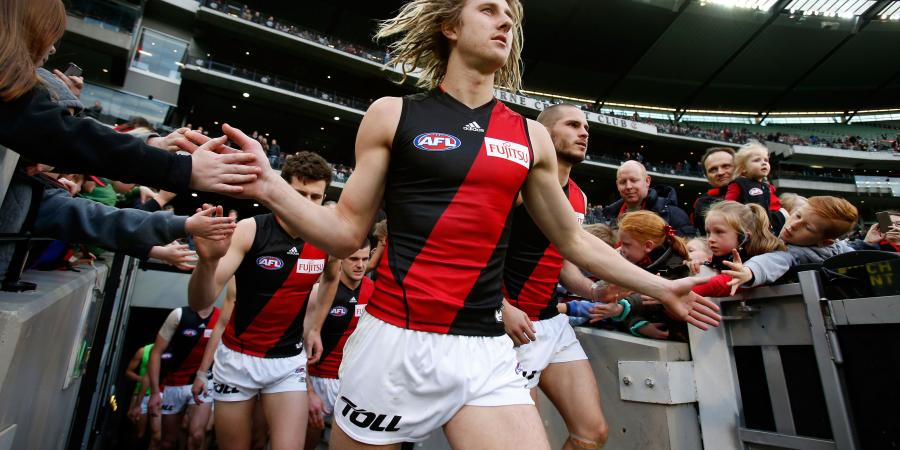 AFL star Heppell staying at Essendon