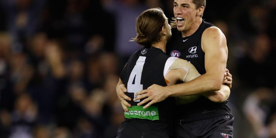 The Emotion of Carlton vs Port Adelaide