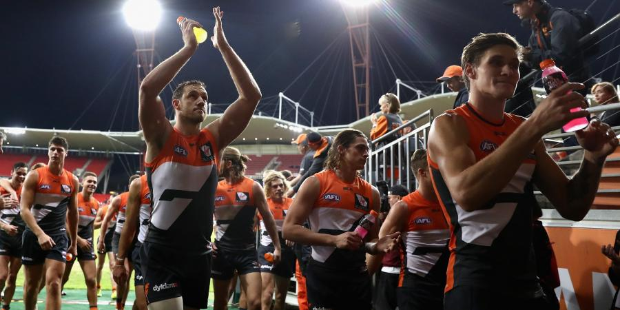 Giants thrash Suns by 91 points
