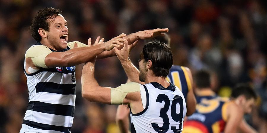 Geelong down Adelaide