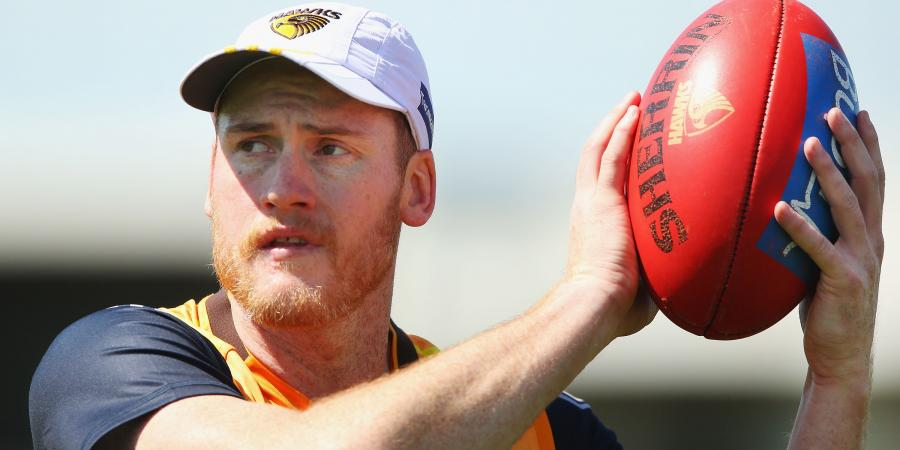 Hawks try to rally after Roughead scare