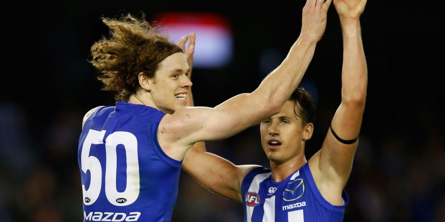 North Melbourne midfielder out for the season