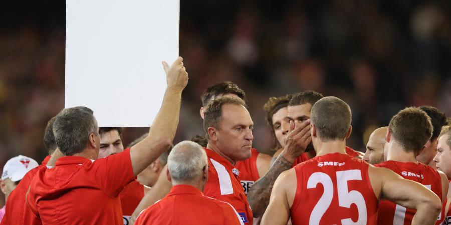 Longmire lauds focussed Swans at the MCG