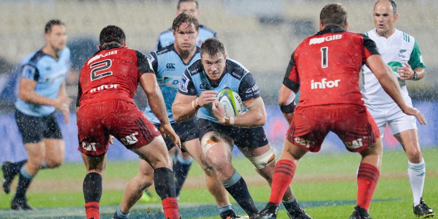 Crusaders end Waratahs' Super Rugby run