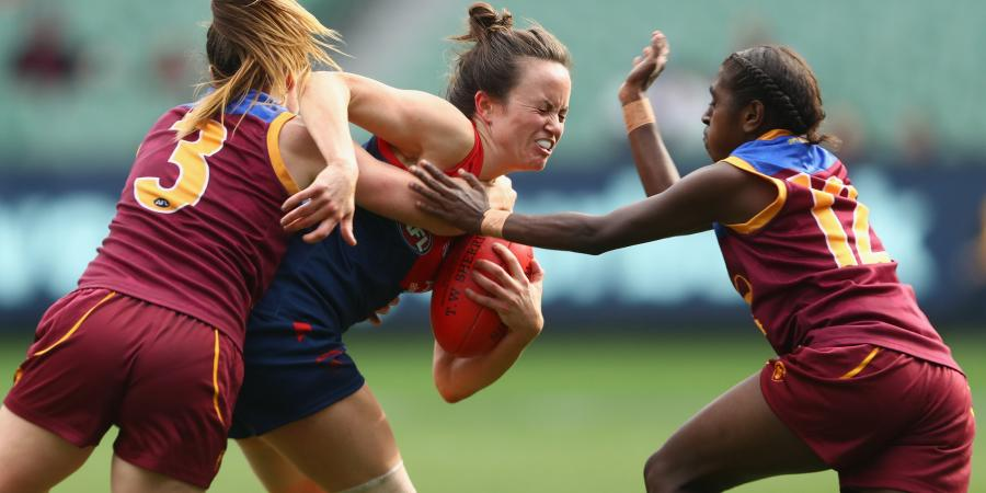 Demons crush Brisbane's women