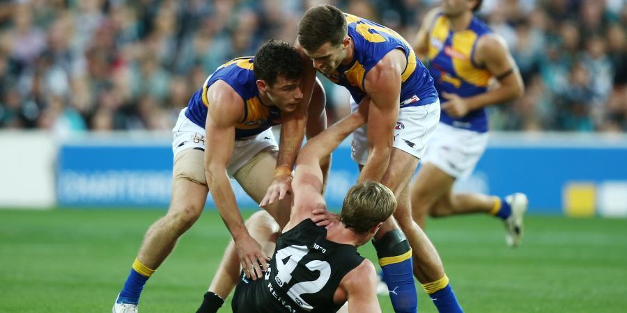 I'm not an AFL thug: Port's Jonas