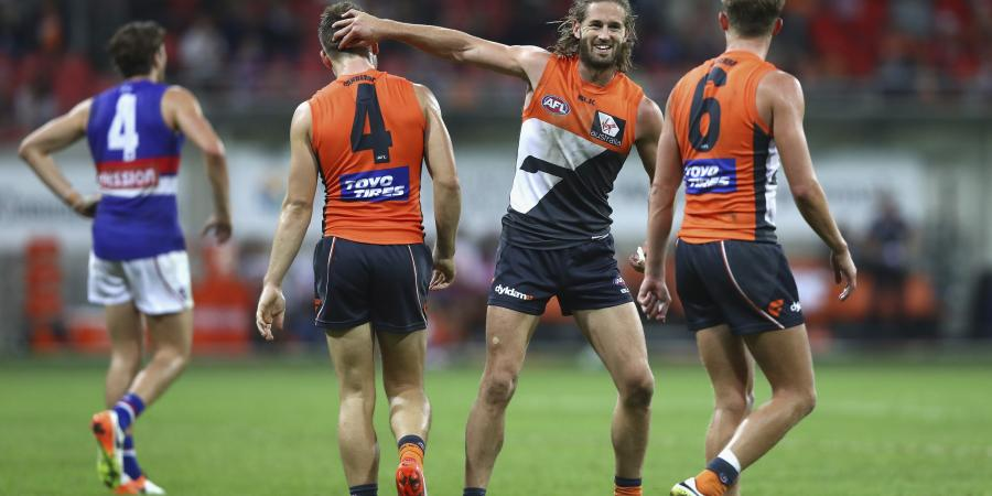 Giants beat Bulldogs by 25 points