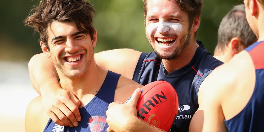 Demons star Petracca hopeful on Hogan