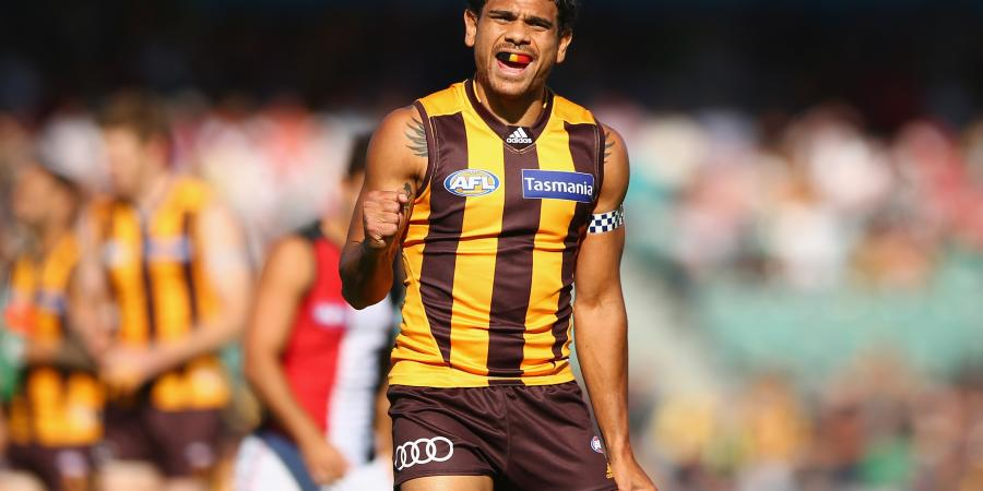 Rioli hoping for blue sky ahead for Hawks