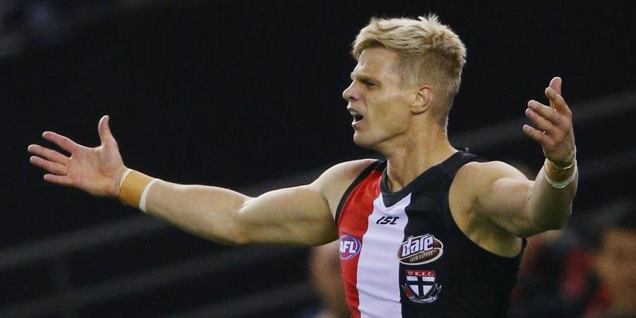 Nick Riewoldt issues apology to club staff member after on-field spray