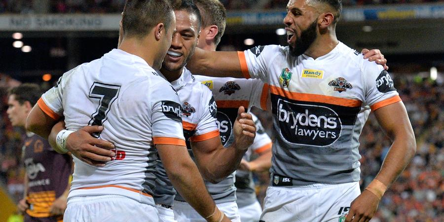 Tigers upset undermanned Broncos in NRL