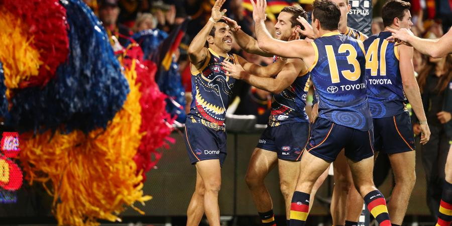 Crows down Giants