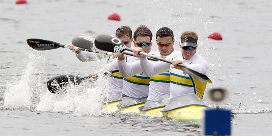 Australians win silver at canoe world cup